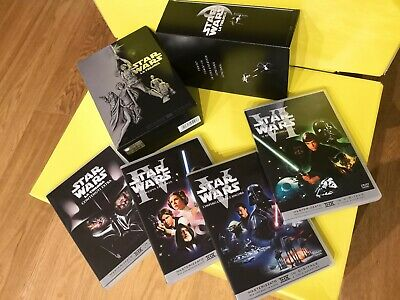 "Box 4 DVD ""Star Wars Guerre Stellari LA TRILOGIA""  Film"