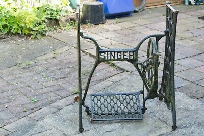 Singer Cast Iron Sewing Machine Support