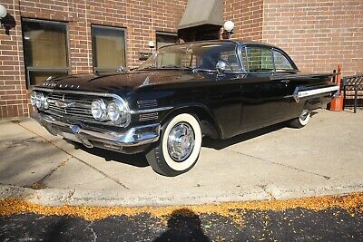 1960 Chevrolet Impala  1960 chevrolet impala tuxedo black bel air biscayne 1959 350 Crate 700R4