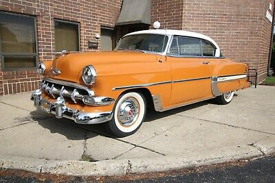1954 Chevrolet Bel Air/150/210 - Factory Auto - Tri Power 1954 Chevrolet Bel Air 150 210 Sport Coupe Continental Kit Automatic Tri Power