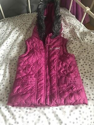 Girls Pineapple Gillet Padded Body Warmer Age 8 Years