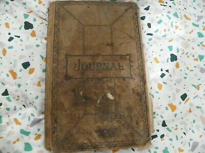 Vintage Pharmacy Journal from Early 1900's **WOW**