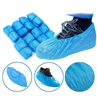 Shoe Covers Plastic Disposable -Medical Waterproof Boot Covers Rain Shoe Cover