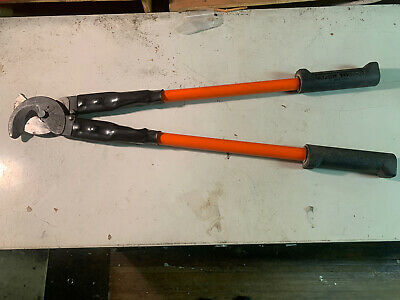 """Klein Standard Wire Cutters, Capacity 1-3/8"""" Wire, 26"""" Long"""