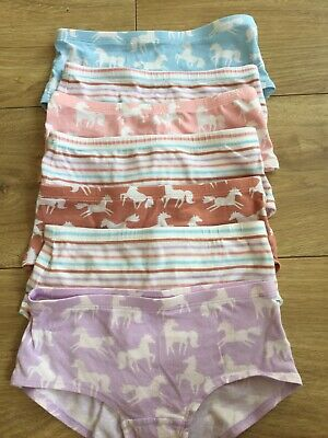 Girls Marks & Spencer's Horse Cotton Pants Age 7-8 Years excellent Used Con