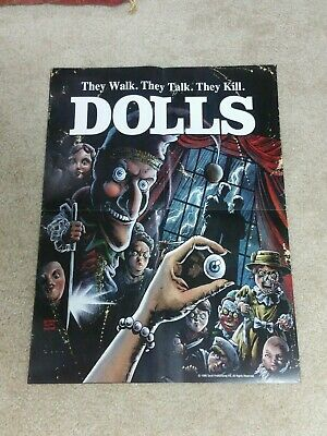 DOLLS MOVIE POSTER (SCREAM FACTORY) GREAT CONDITION HORROR GORE RARE 24x18