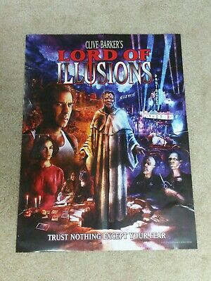 Lord Of Illusions Movie Poster (Scream Factory) Great Condition Horror Gore Rare