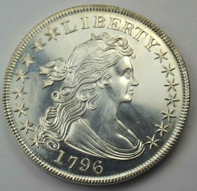 Gallery Mint Museum Proof 1796 Silver Dollar Fantasy Tribute Coin, Ron Landis