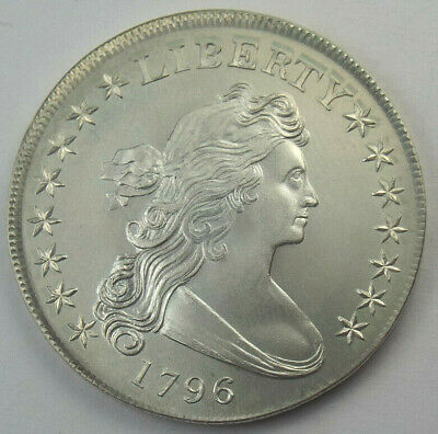Gallery Mint Uncirculated 1796 Silver Dollar Fantasy Tribute Coin, Ron Landis