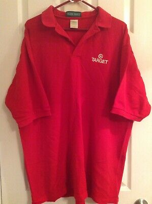 Target Team Member Red Polo Shirt 2XL