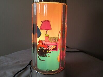 The Simpsons Light Up Rotating Lamp