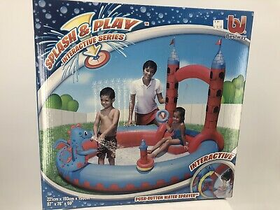 Interactive Castle Play Pool