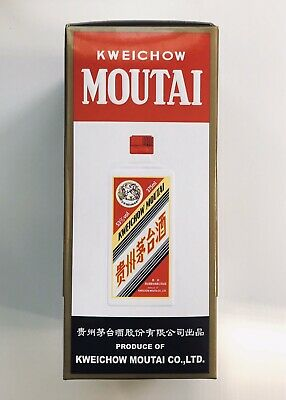 Chinese Guizhou Kweichow Moutai Liquor 375 Ml, 2010(1Ps).