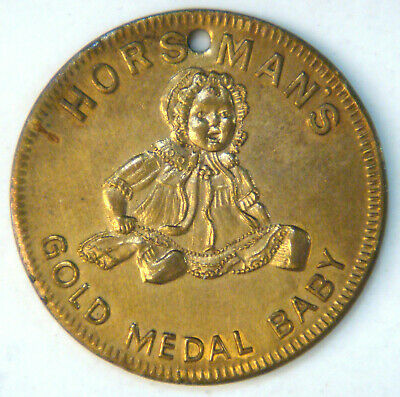 SWASTIKA - Horsmans Gold Medal Baby (DOLL) Keep this and GOOD LUCK will follow