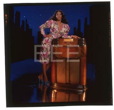 Donna Summer Music Singer Harry Langdon Transparency w/rights 147F