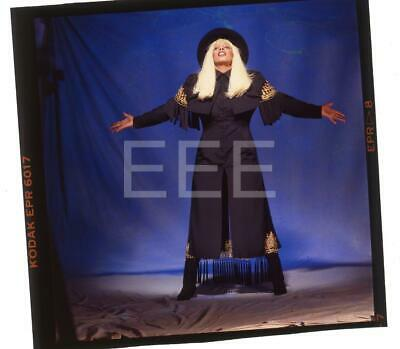 Donna Summer Music Singer Harry Langdon Transparency w/rights 145F