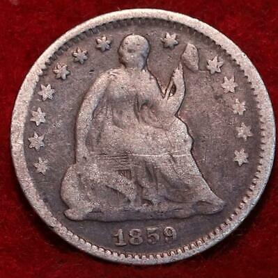 1859-O New Orleans Mint Seated Liberty Silver Half Dime
