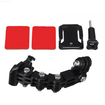ABS Motorcycle Helmet Chin Mount Holder Full Face for GOPRO Hero Action Camera