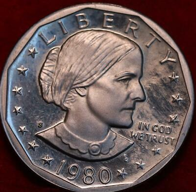 Uncirculated 1980-S Susan B Anthony Clad Dollar
