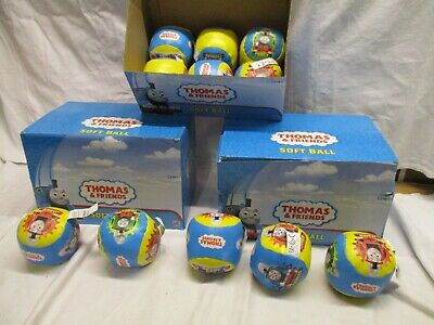 Brand New Joblot Of 35 Thomas The Tank & Friends Soft Balls In Display Boxes