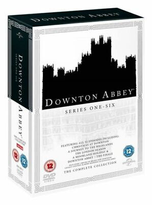 Downton Abbey Complete Collection | DVD Box Set Series Seasons 1-6 | UK