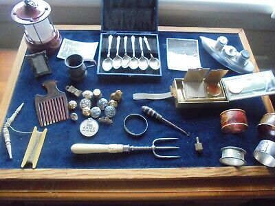 Another Large Quality Antiquevintage Job Lot With Silver   869 X