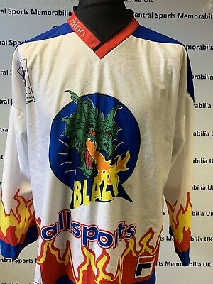 Solihull / Coventry Blaze 1999/2000 Replica Jersey Fully Signed - Rare!