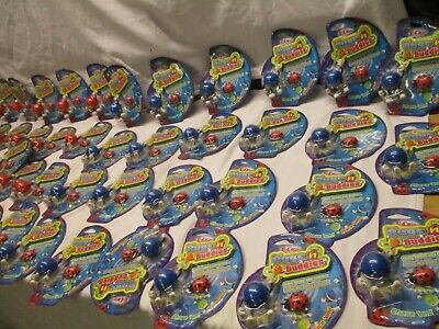 Brand New Joblot Of 48 Toys Bugs & Buddies  Acetate Pack  For Resale Shop Boot