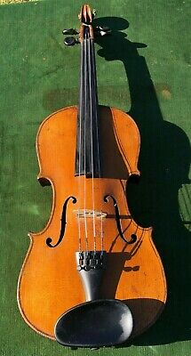 Antique  Strad-Copy 4/4 VIOLIN - Nice Condition!  Circa 1890s to 1920s