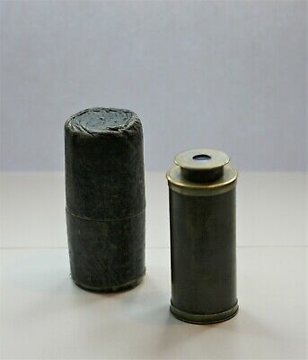 Miniature Spyglass Telescope With Orig. Case,  Good Working Order, Clear Image
