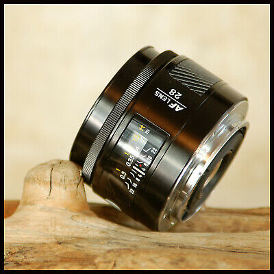 SUPER Minolta 28mm AF Prime Wide Angle F2.8 lens for Sony Alpha A Digital
