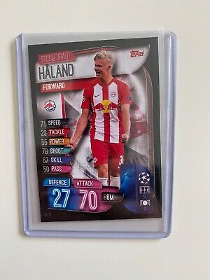 Erling HAALAND HALAND Topps Match Attax  Champions League 2019-2020 ROOKIE CARD