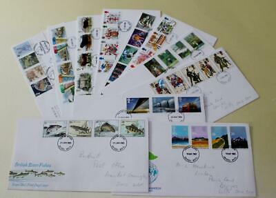 GB 1983 -84 FIRST DAY COVER STAMPS x 11 FDC COLLECTION ROYAL MAIL COMMEMORATIVES