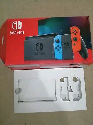 Empty Replacement Box For Nintendo Switch Console New Version.