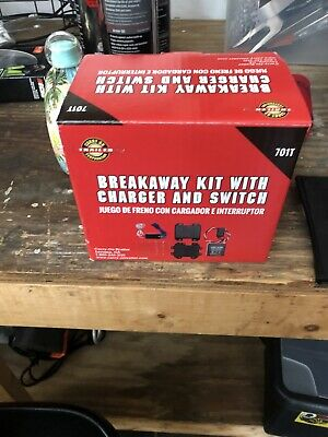 CARRY-ON Trailer Breakaway Kit with Charger and Switch #701T