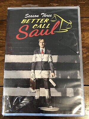 New Better Call SAUL Season 3 DVD 10 Episodes On 3 Discs Shipping Is Free