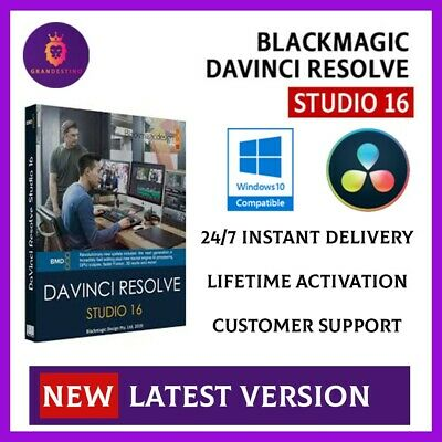🔥DaVinci Resolve Studio 16.2✔️🔥Full Version🔥✔️Lifetime✔️🔥Windows✔️
