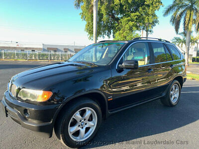 2000 BMW X5 4.4i AWD Low Miles Clean Carfax Garage Kept Dealer Serviced Fully Loaded All Wheel Drive!