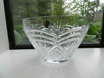 Signed Waterford Crystal Bowl Playwright Literary Collection Oscar Wilde