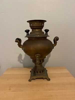 Antique Copper and Brass Samovar Ideal Project