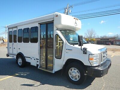 Ford E-350 Single Rear Wheel Shuttle Bus 8 Passenger Handicap Wheelchair Lift 10