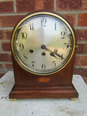 German Oak Arch top 8 Day Westminster Bracket Clock