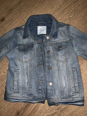 NEXT Girls Denim Jacket Age 6 Years Summer