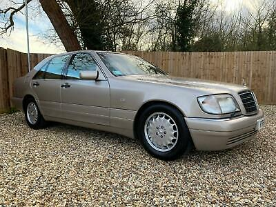 Classic 1997 Mercedes Benz S320 3.2 Auto, 53,800 Miles From New
