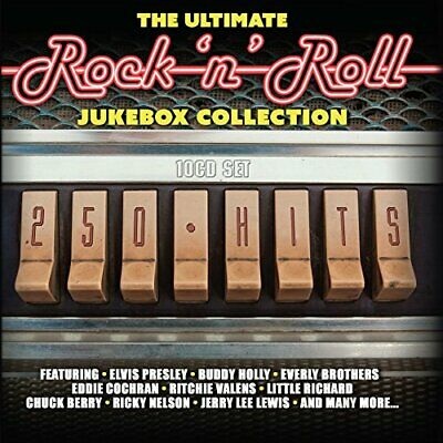 The Ultimate Rock 'n' Roll Jukebox Collection 250 Hits Original recording...