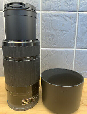 Sony SEL55210 E 55-210mm f/4.5-6.3 OOS Black Lens for APS-C E-mount  Free UK P&P
