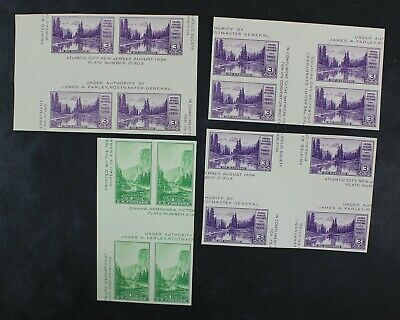 CKStamps: US Stamps Collection Unused 1NH 3H NGAI Gutter Between