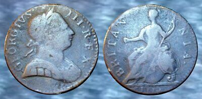 ☆ AWESOME !! ☆ 1775 King George III Revolutionary War Coin !! ☆