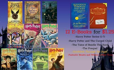 The Harry Potter the Complete Collection (12-books, PDF download, Ebook)