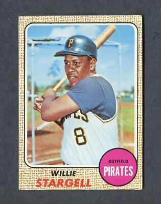 1968 Topps Baseball #86 Willie Stargell Pittsburgh Pirate Mlb Card Ex+ / Ex-Mint